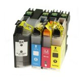 Compatible Ink Cartridges LC-227/225 XL CMYK for Brother (LC227CMYK)