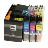 Compatible Ink Cartridges LC-529/525 XL for Brother MFC-J200