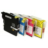 Compatible Ink Cartridges LC-985 CMYK (LC985VALBP) for Brother MFC-J265 W
