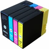 Compatible Ink Cartridges PGI-2500 CMYK for Canon (9254B004)