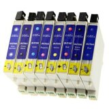 Compatible Ink Cartridges T0540-549 for Epson (multi pack)