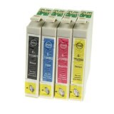 Compatible Ink Cartridges T0715 for Epson (C13T07154010) (multi pack)