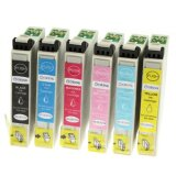 Compatible Ink Cartridges T0791-T0796 for Epson