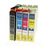 Compatible Ink Cartridges T1816 for Epson (C13T18164010) (multi pack)