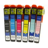 Compatible Ink Cartridges T2438 for Epson (C13T24384010)