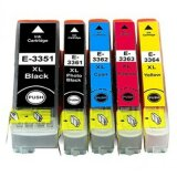 Compatible Ink Cartridges T3357 for Epson (C13T33574010)